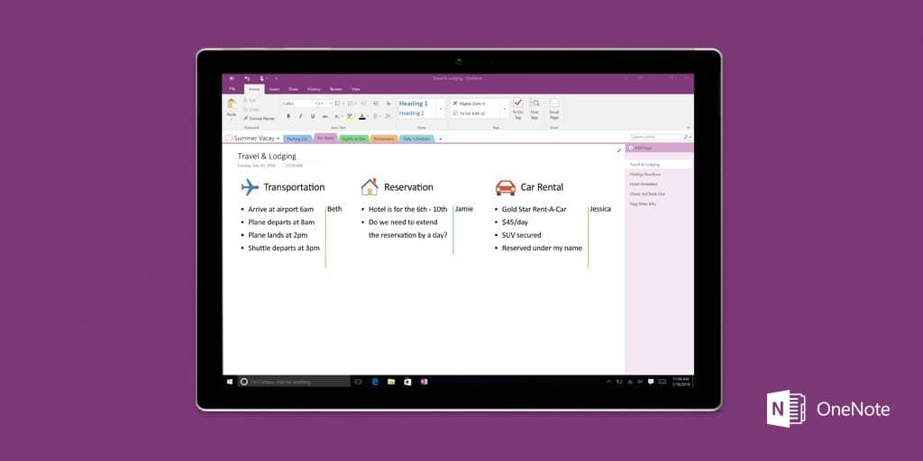 Here's how to move your OneNote 2016 local notebooks to OneDrive, a