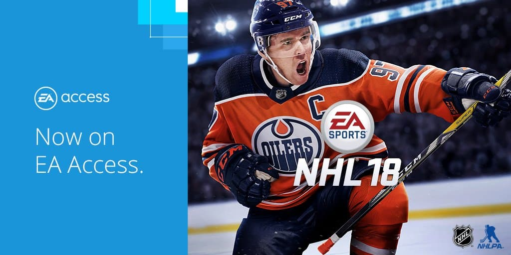 Ea Sports Nhl 18 Now Available In Ea Access On Xbox One Onmsft Com