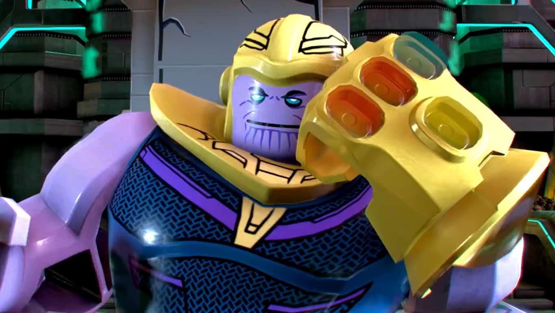 Thanos in LEGO Marvel Superheroes 2 Avengers Infinity War DLC