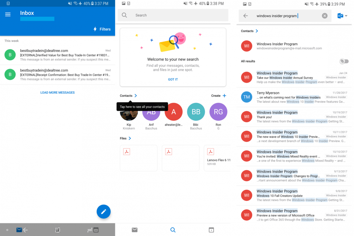 Outlook for Android