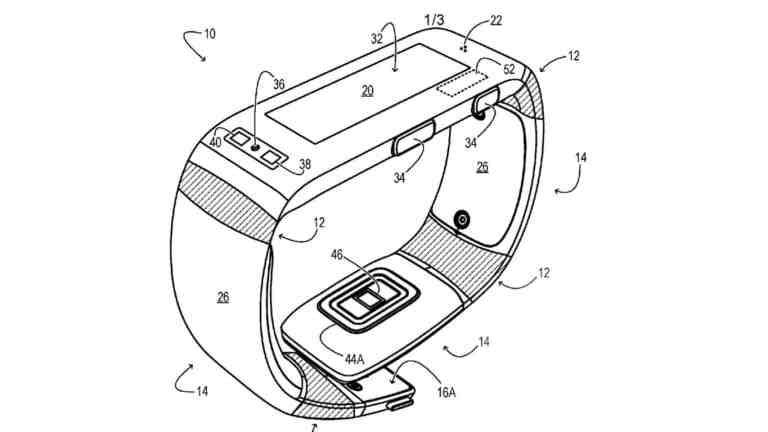 Microsoft Band patent