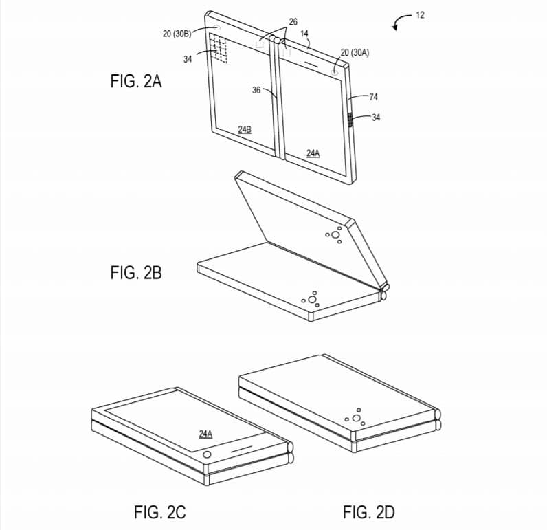 New Microsoft patent envisions a dual-screen mobile device