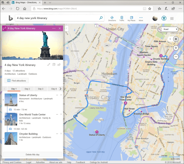 Build your own custom travel itineraries with Bing Maps OnMSFT.com