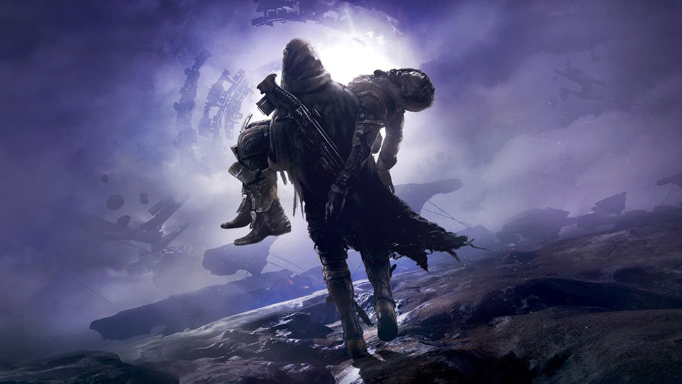 Destiny 2: Forsaken video game on Xbox One