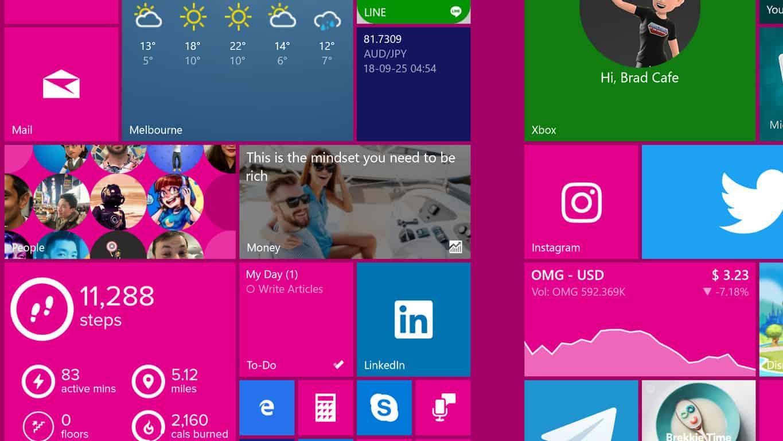 Microsoft To-Do app on Windows 10 Start Screen