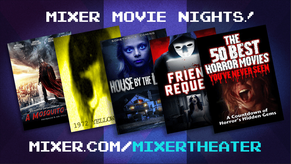 Microsoft's Mixer streaming service to stream horror movies this