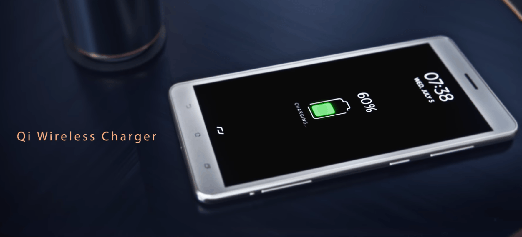 The Zen AiO supports Qi wireless charging of phones on top of the PC's base.