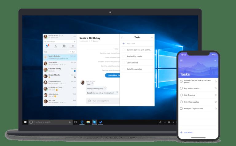 Microsoft, Windows 10, Skype