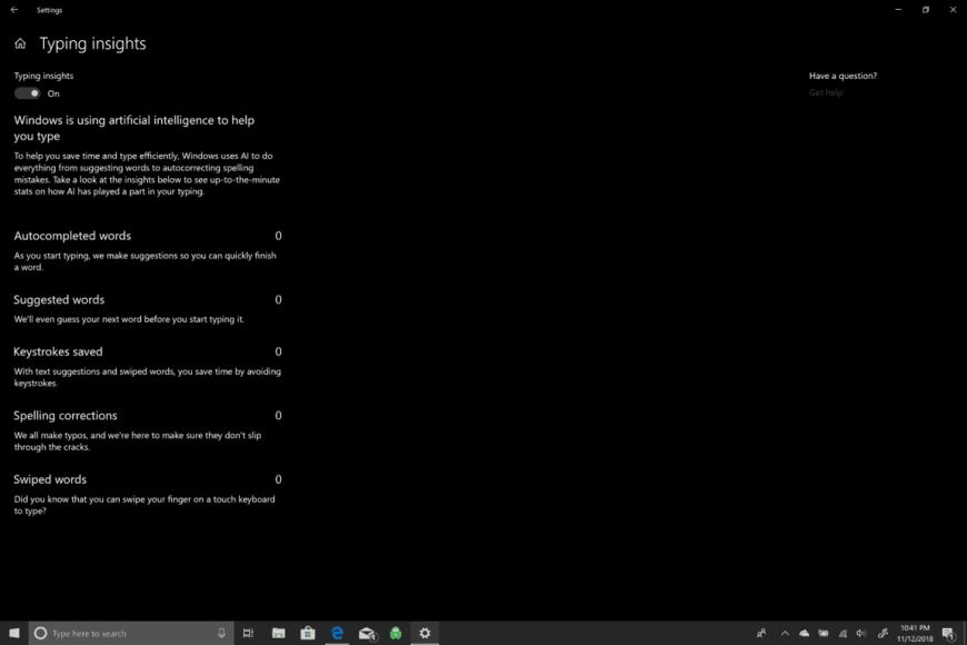 Microsoft, Windows 10, SwiftKey