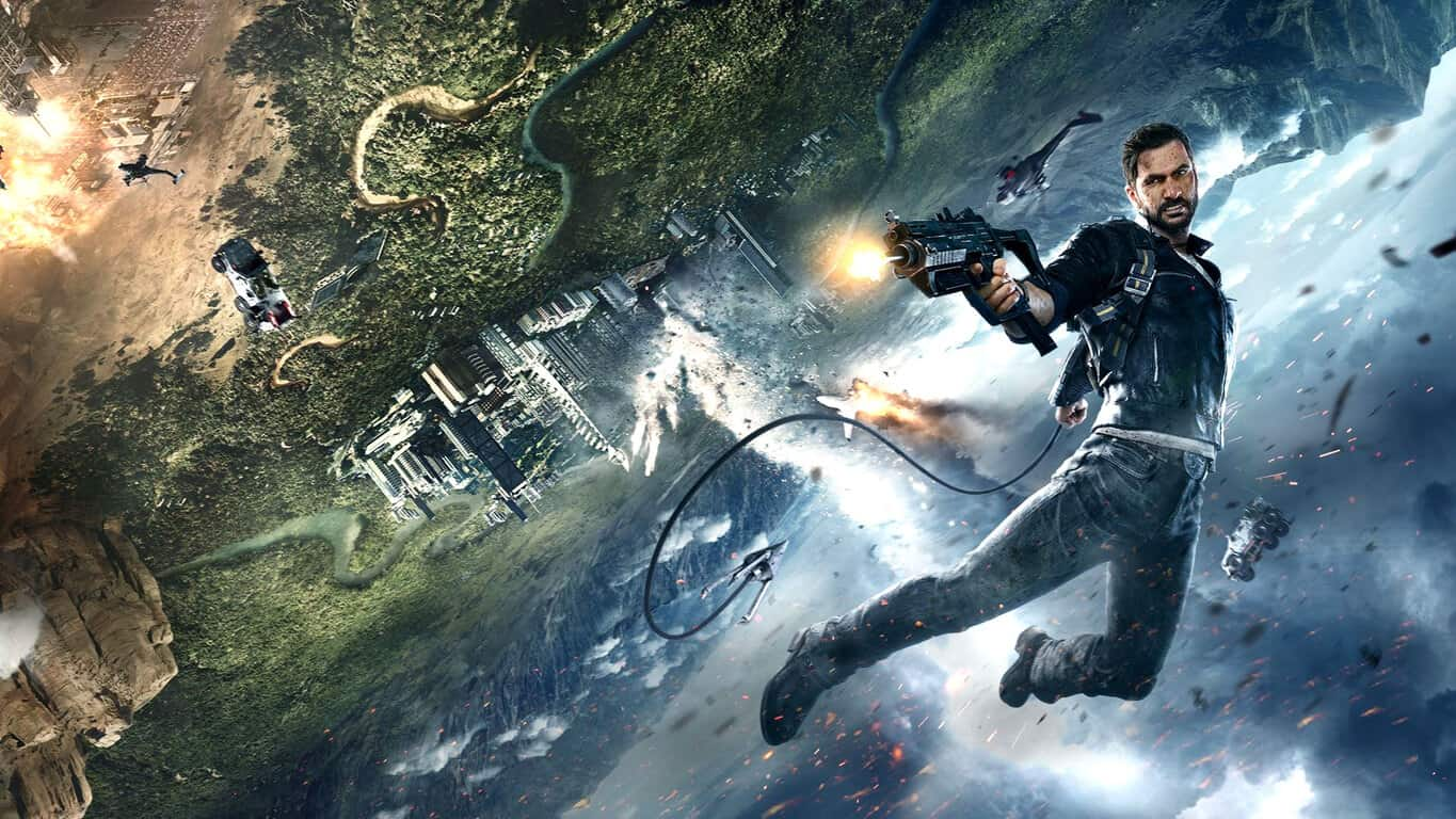 Just Cause 4 video game on Xbox One