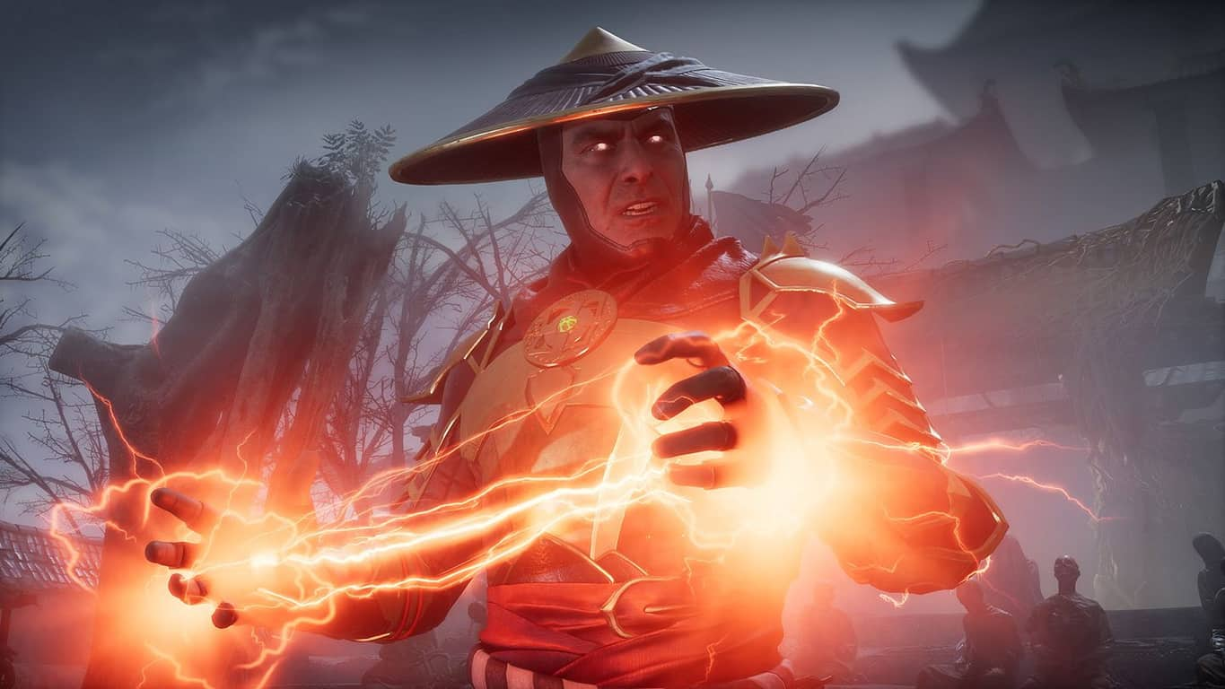 Raiden in Mortal Kombat 11 on Xbox One