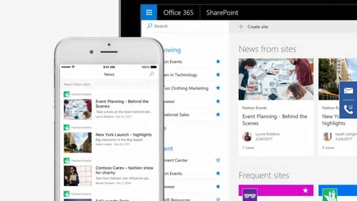 Microsoft SharePoint gets @ mentions and more in latest iOS app