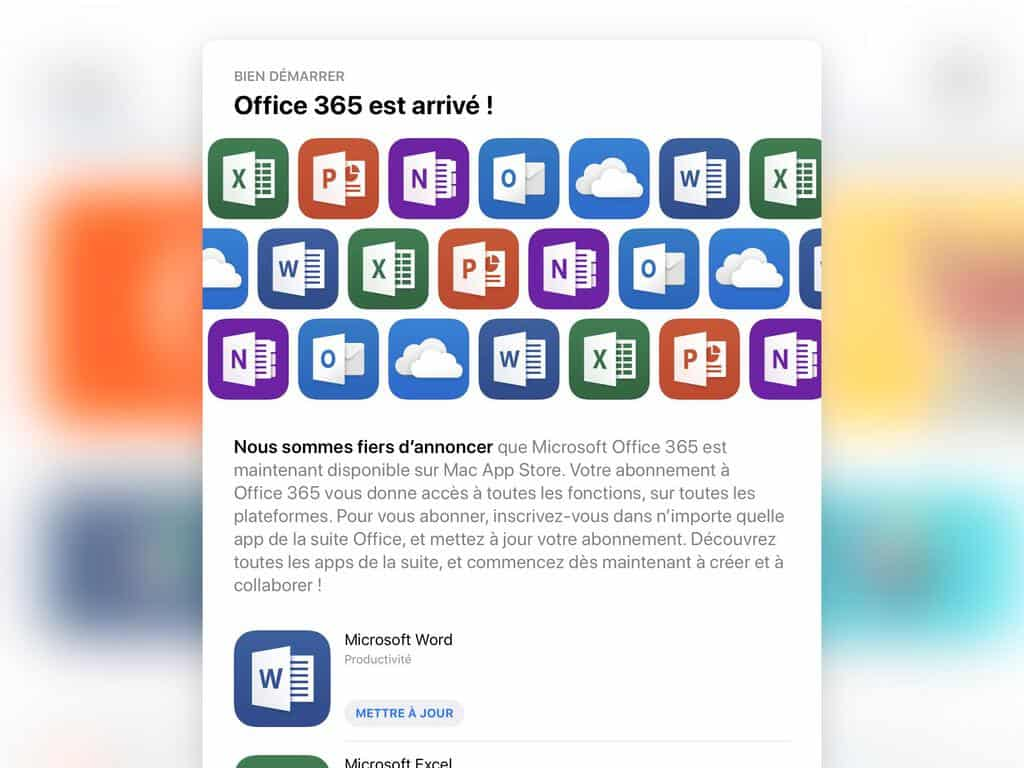 Updated: It's live] Office 365 apps appear on Mac App Store