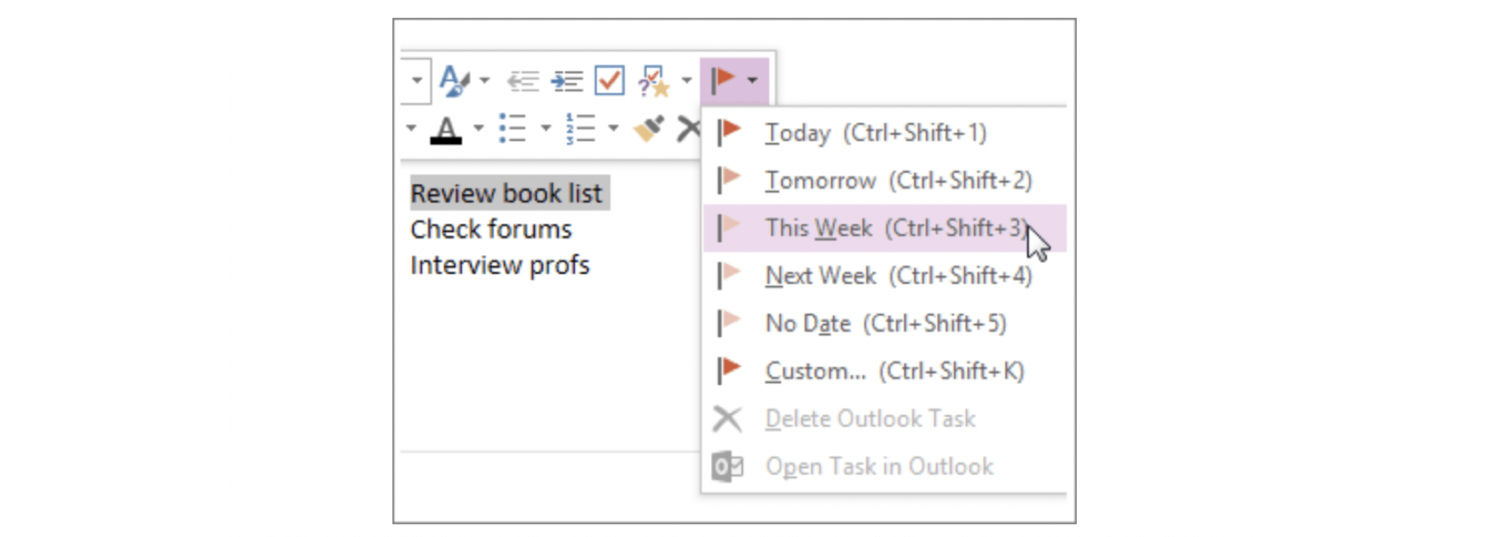 Cheat Sheet: Outlook, OneNote, To-Do, or Sticky Notes