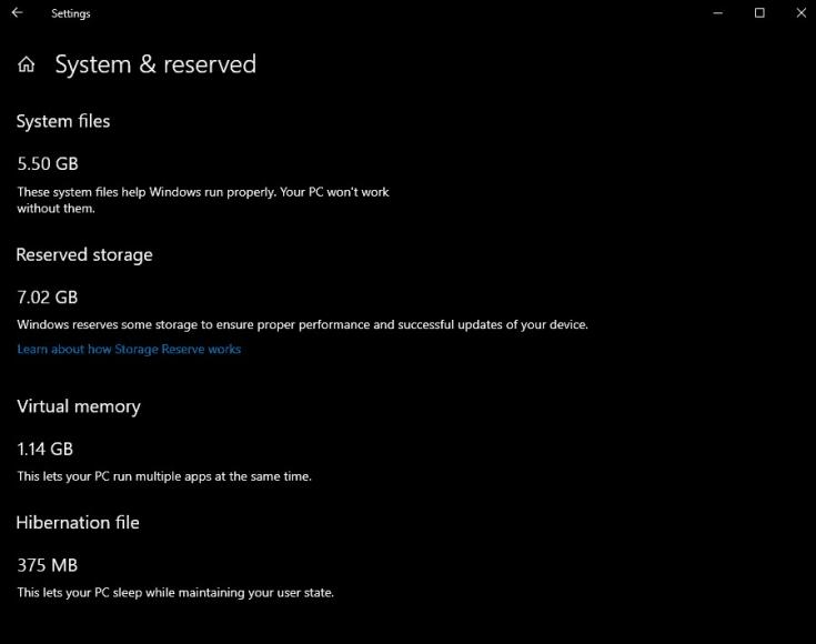 windows 10 clean install usb size