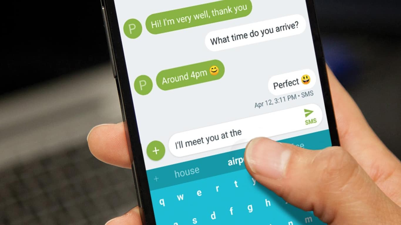 SwiftKey keyboard on Android