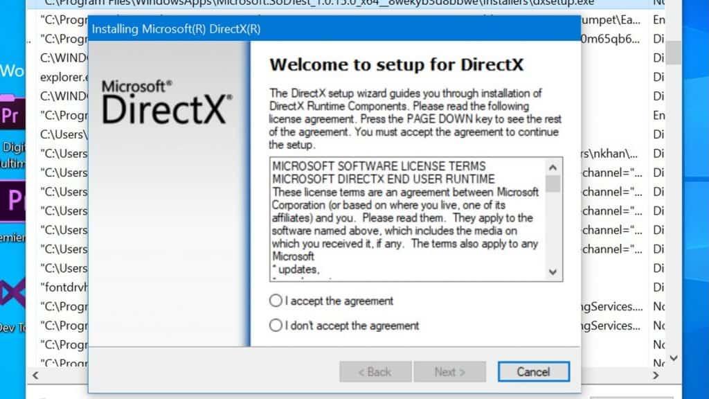 install directx 8.1 windows 10