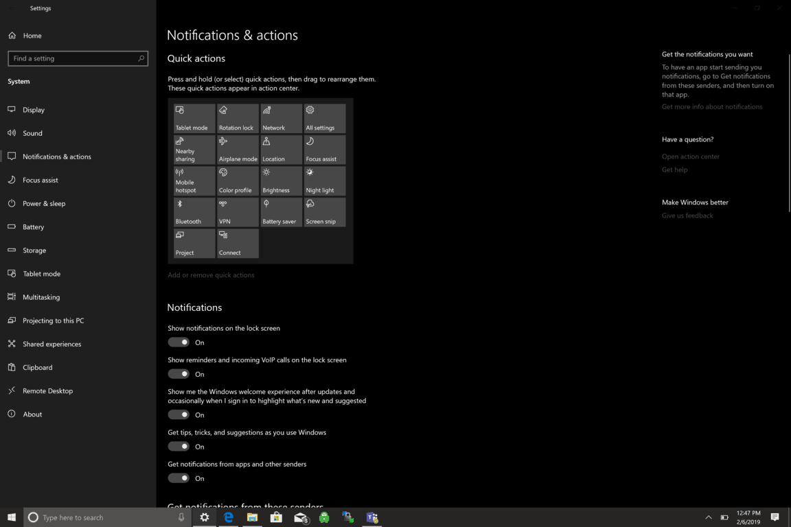 How to pause, or even stop all Windows 10 Notifications