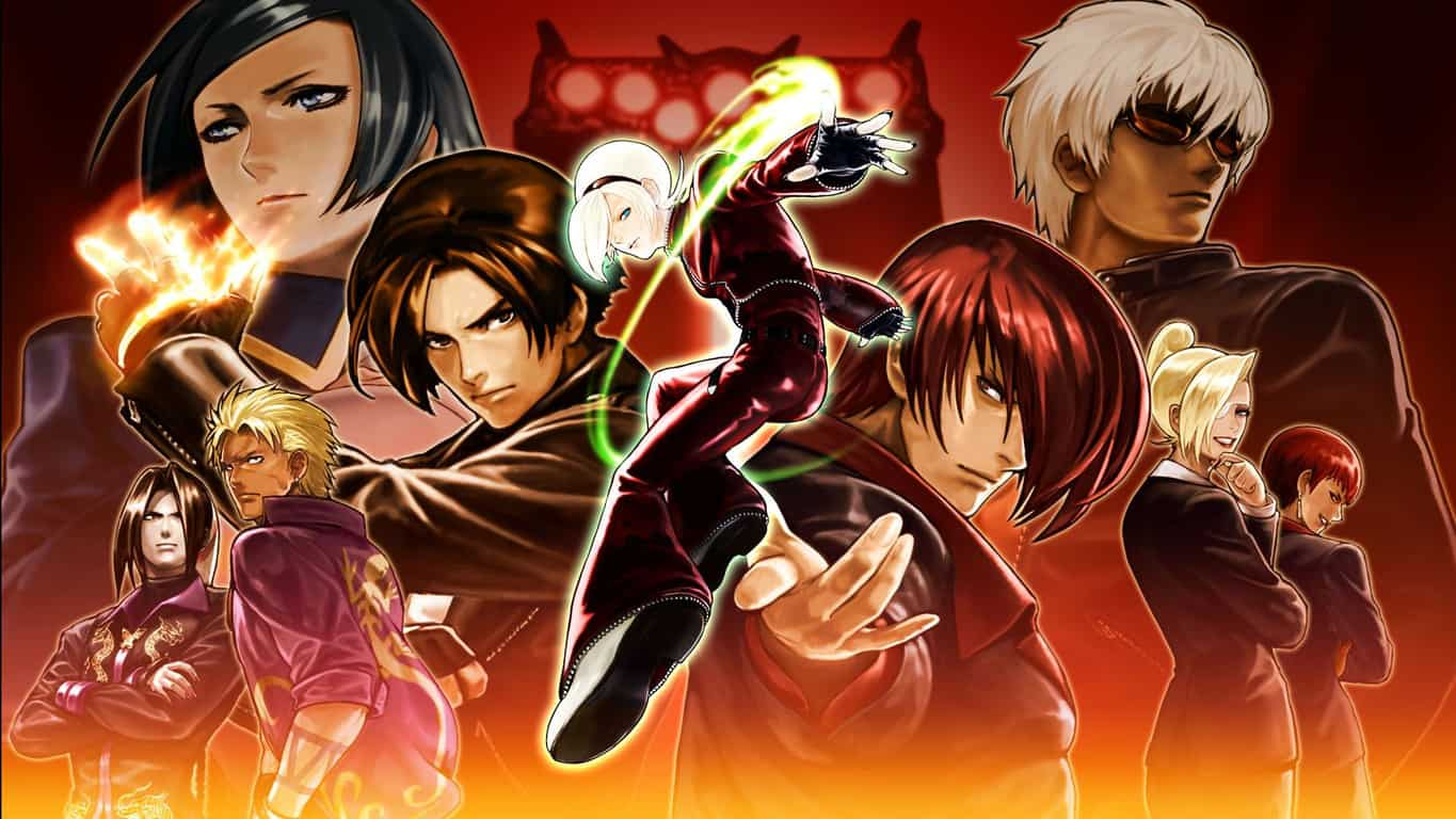 King of Fighters XIII video game on Xbox 360 and Xbox One