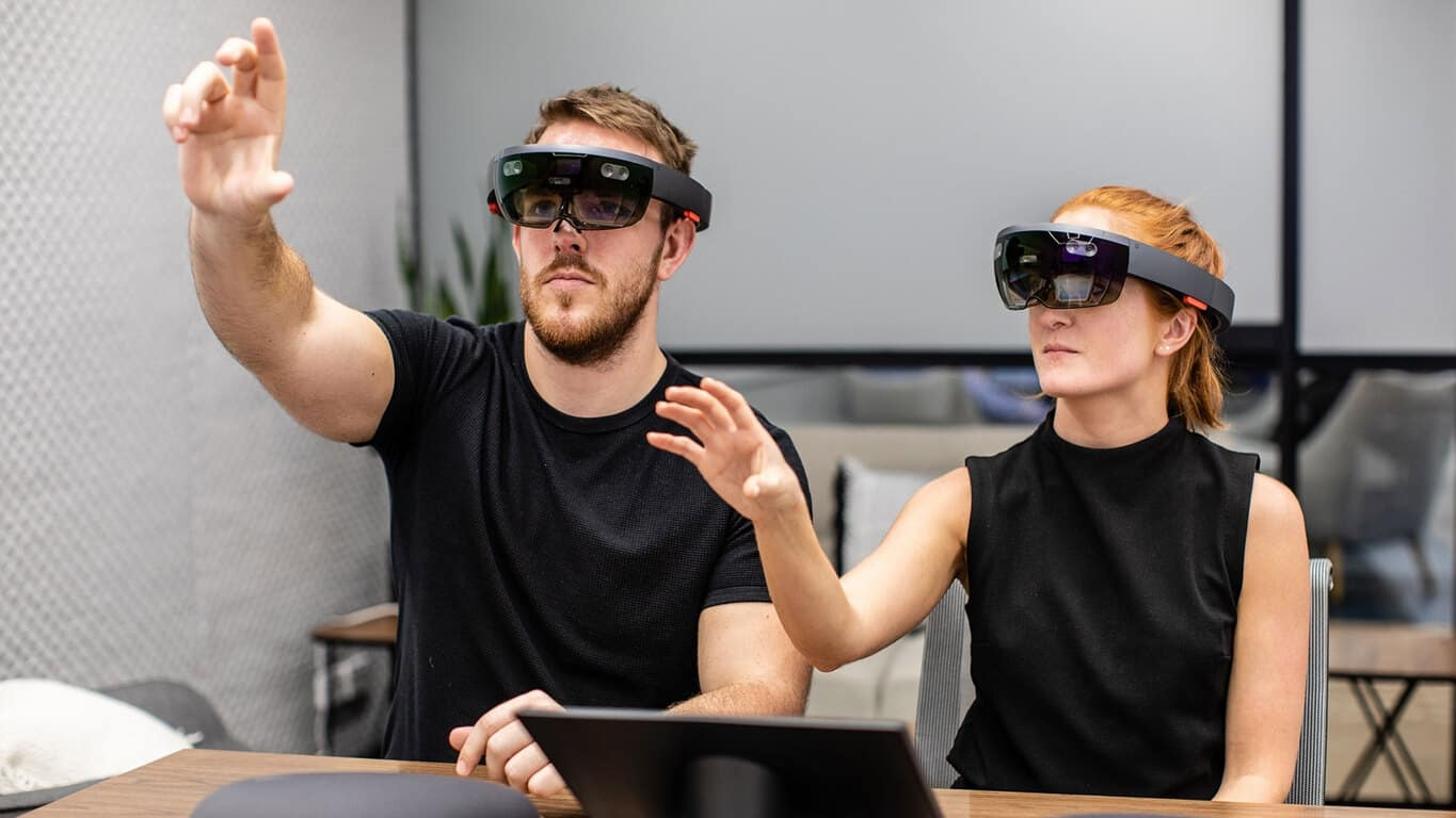 HoloLens in the new Microsoft Technology Centre in Sydney Australia