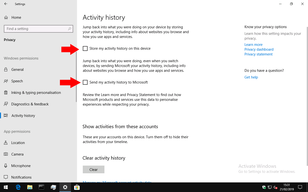 How to disable (or re-enable) Windows 10\u0027s Timeline feature OnMSFT.com