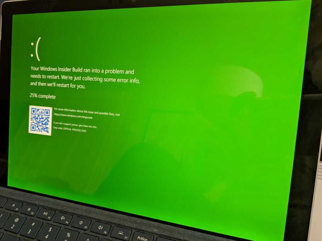 How to trigger a Windows 10 BSoD on-demand OnMSFT com