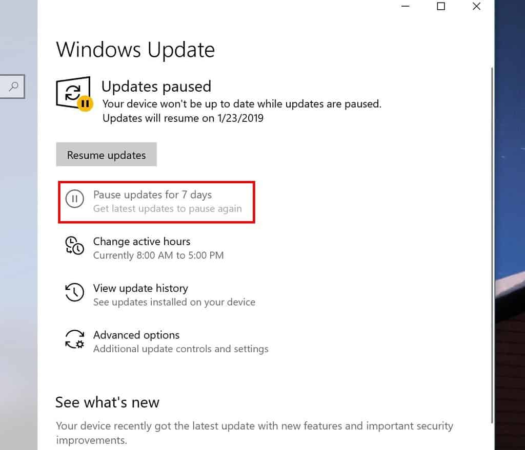 Windows may uninstall updates that cause startup problems