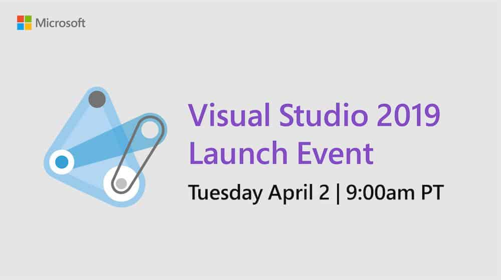 QnA VBage Visual Studio 2019 launches on Windows and Mac today with an online launch event