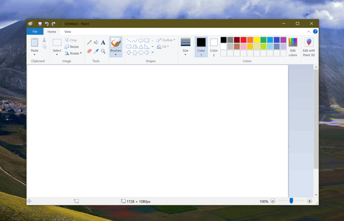 Microsoft confirms it won't remove MS Paint from Windows 10 for now