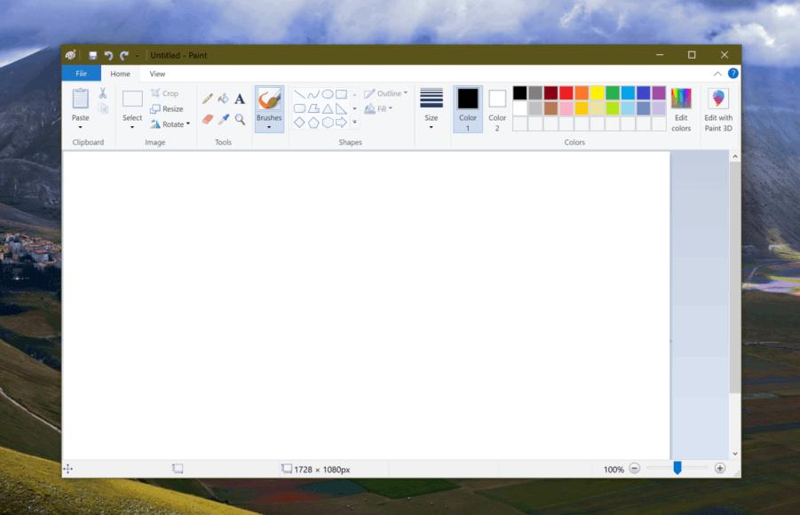 microsoft paint windows 7 free download