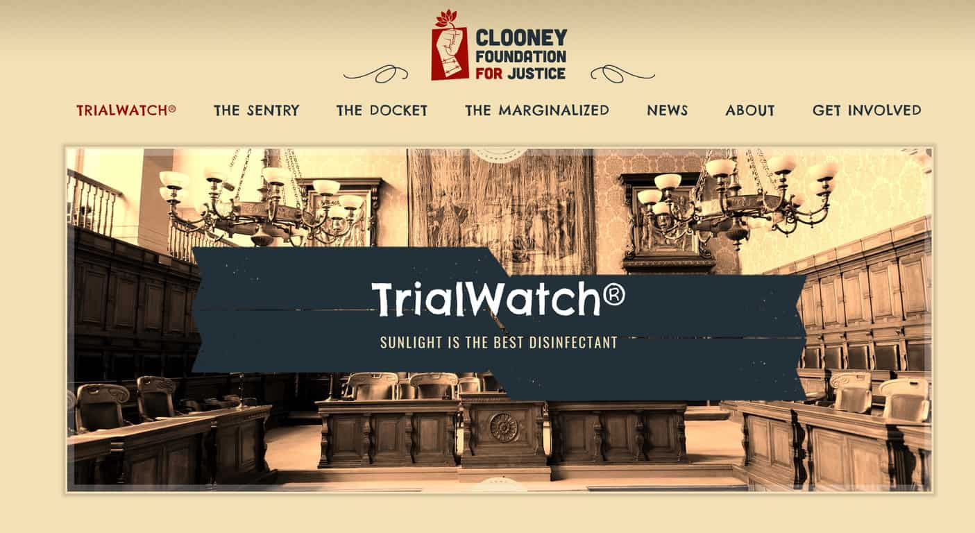 TrialWatch The Clooney Foundation