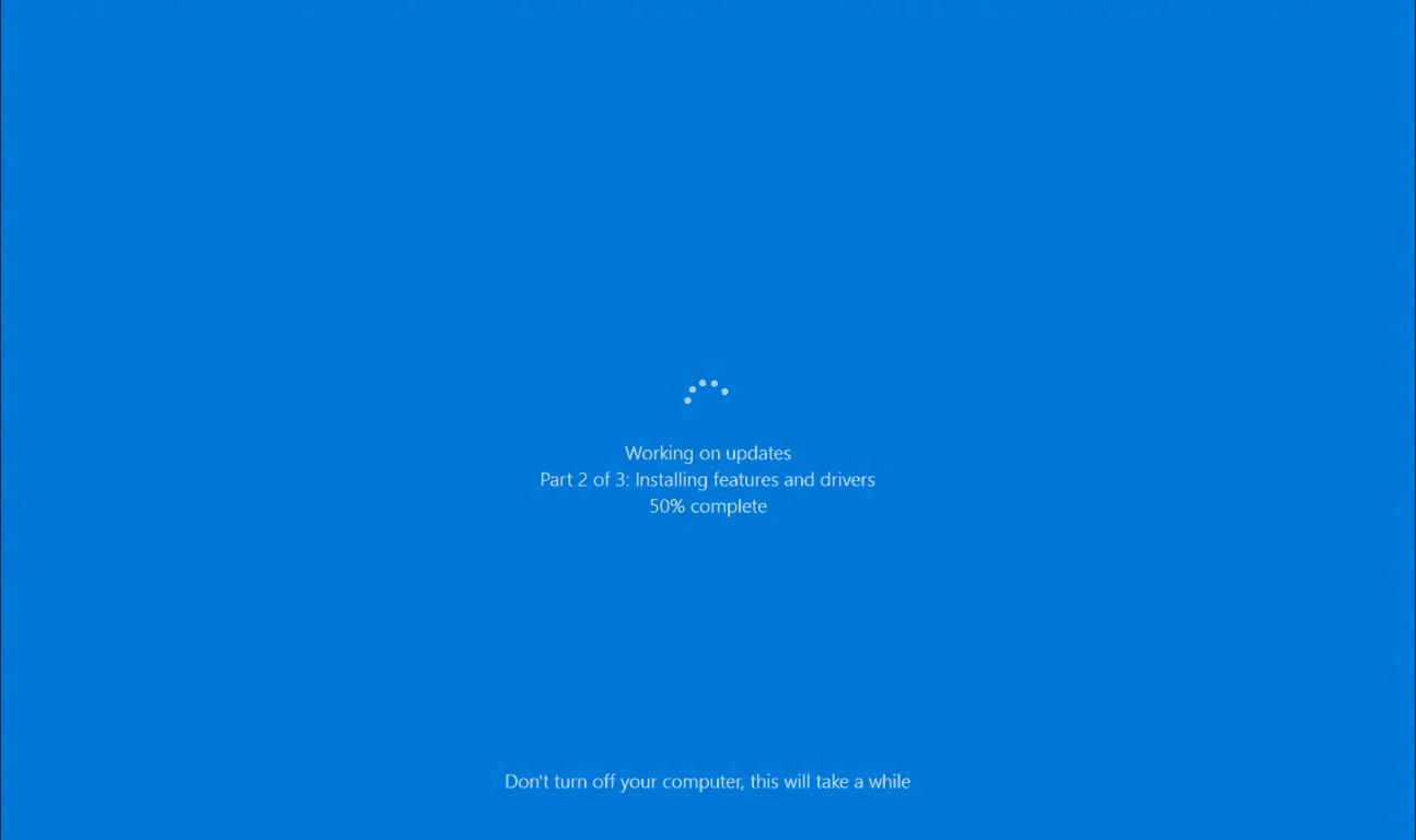Windows 10 Update Dauert Ewig