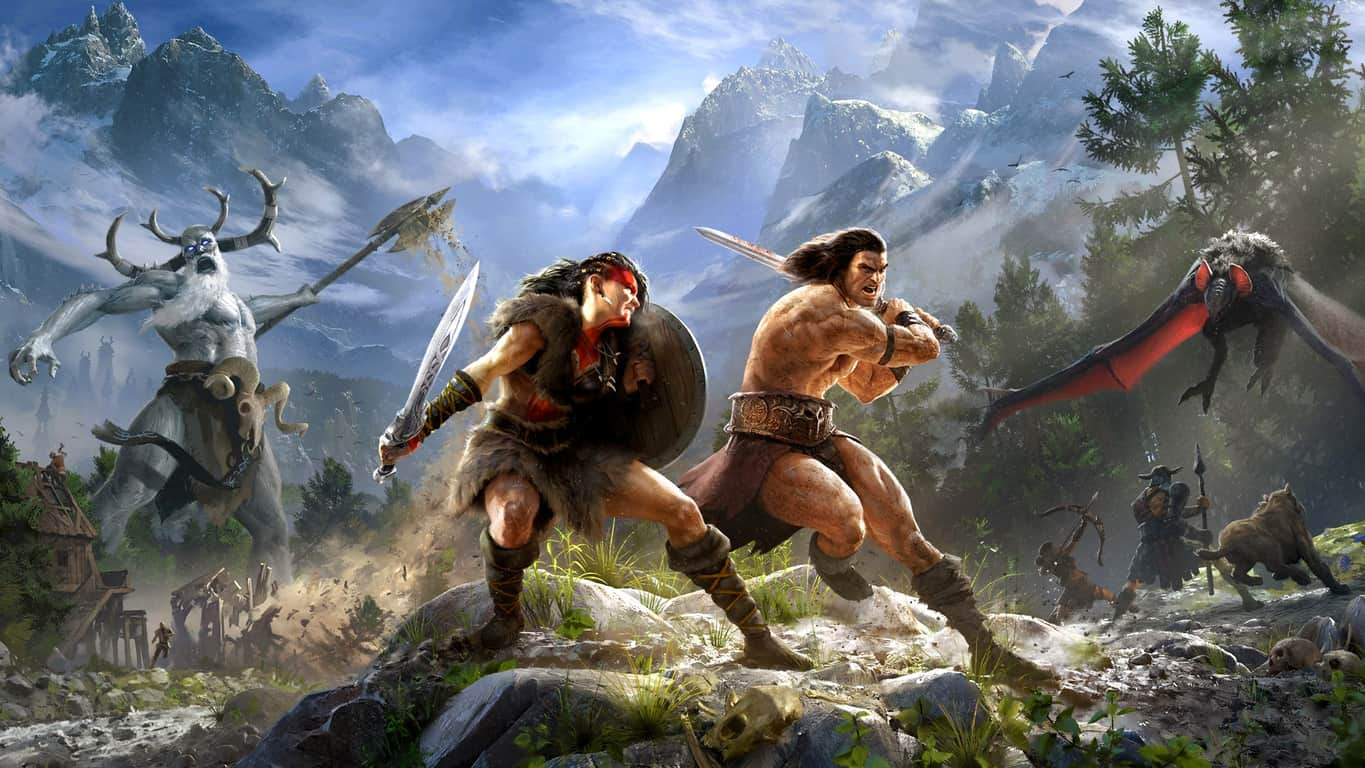 Conan Exiles video game on Xbox One