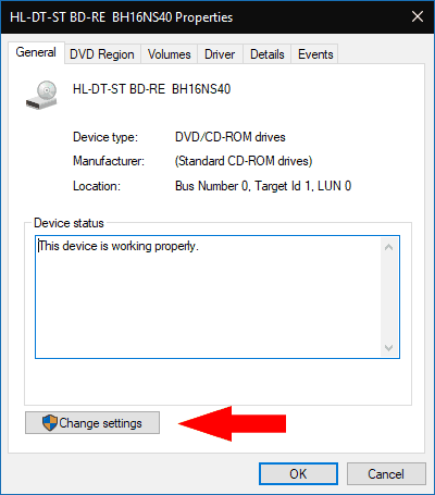 Dvd drivers windows 10