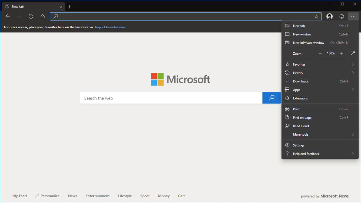 How to enable dark theme now in Microsoft Edge Insider builds OnMSFT com