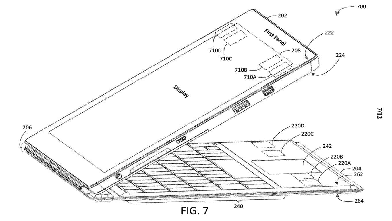 Microsoft Type Cover patent.