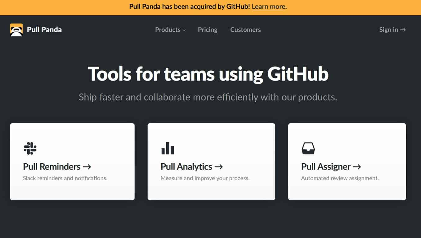 PullPanda acquired by GitHub