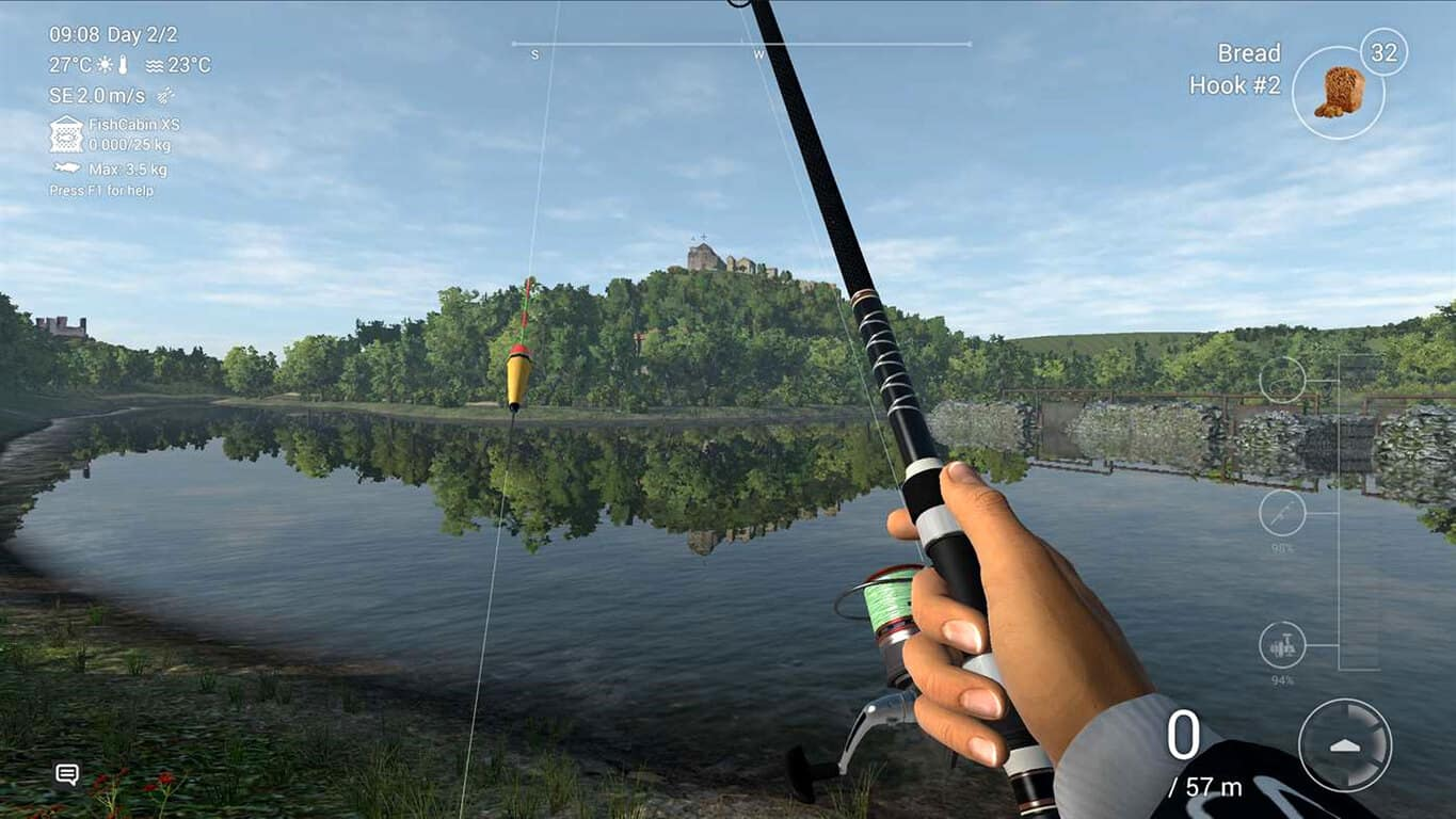 Fishing Planet video game on Xbox One
