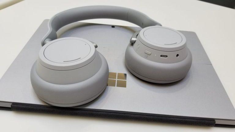 Surface  Headphones & Surface Pro 4