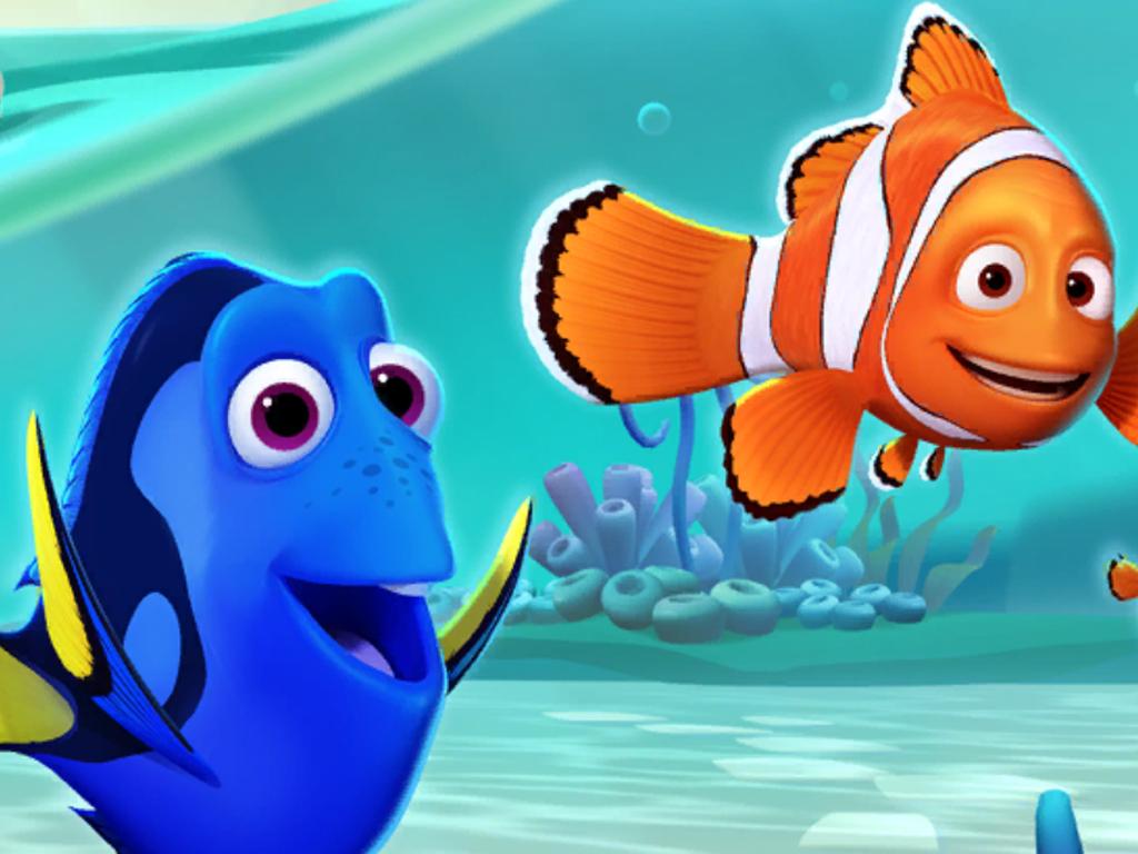 Disney Magic Kingdoms Finding Nemo video game update.