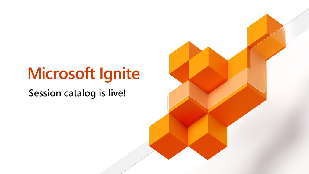Microsoft Ignite 2019 session catalog is now available