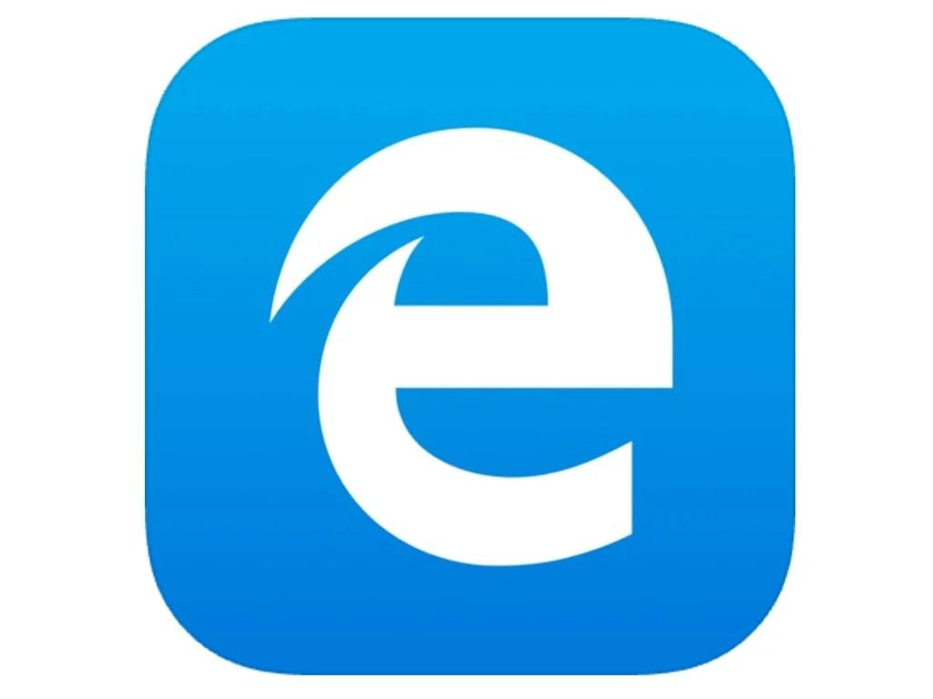 Microsoft Edge app icon.