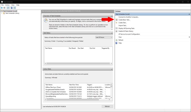 How to schedule a shutdown in Windows 10 OnMSFT com