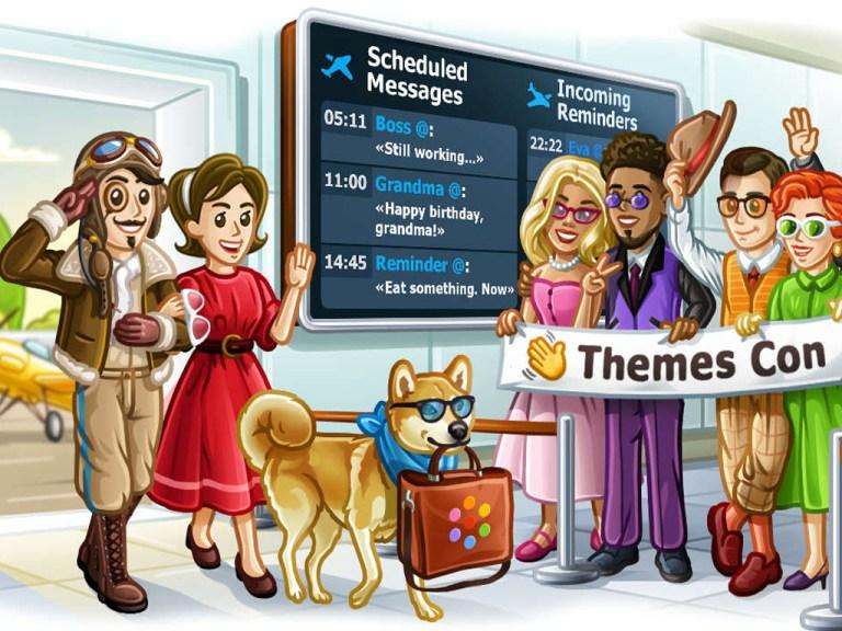 Windows 10 Telegram app