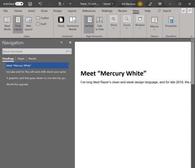 Tips and Tricks for Microsoft Word in Office 365