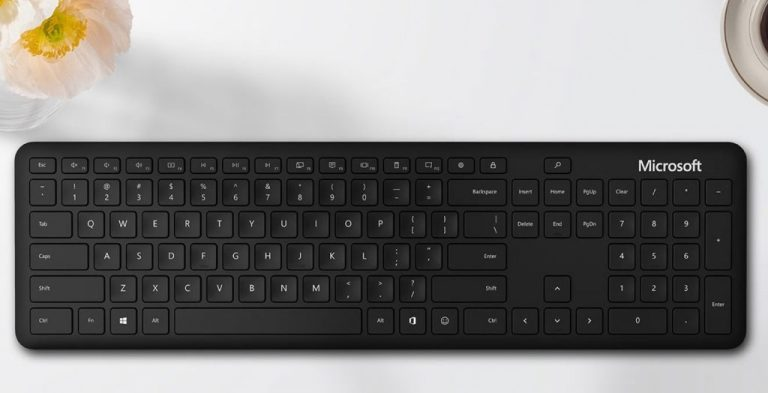 Microsoft Bluetooth Keyboard