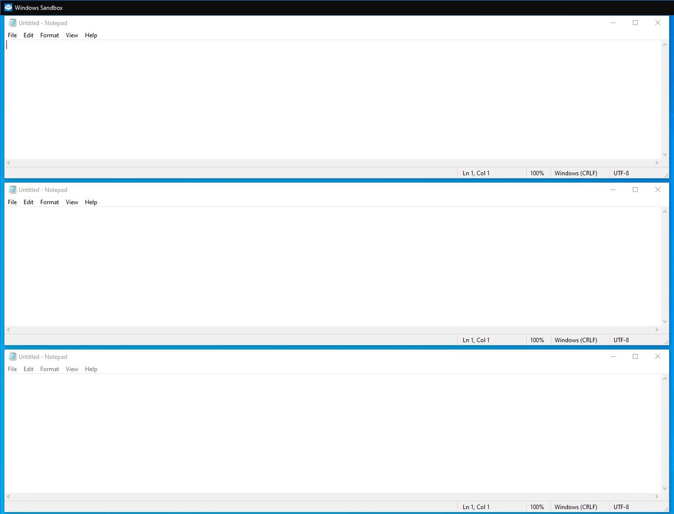Stacking Windows in Windows 10