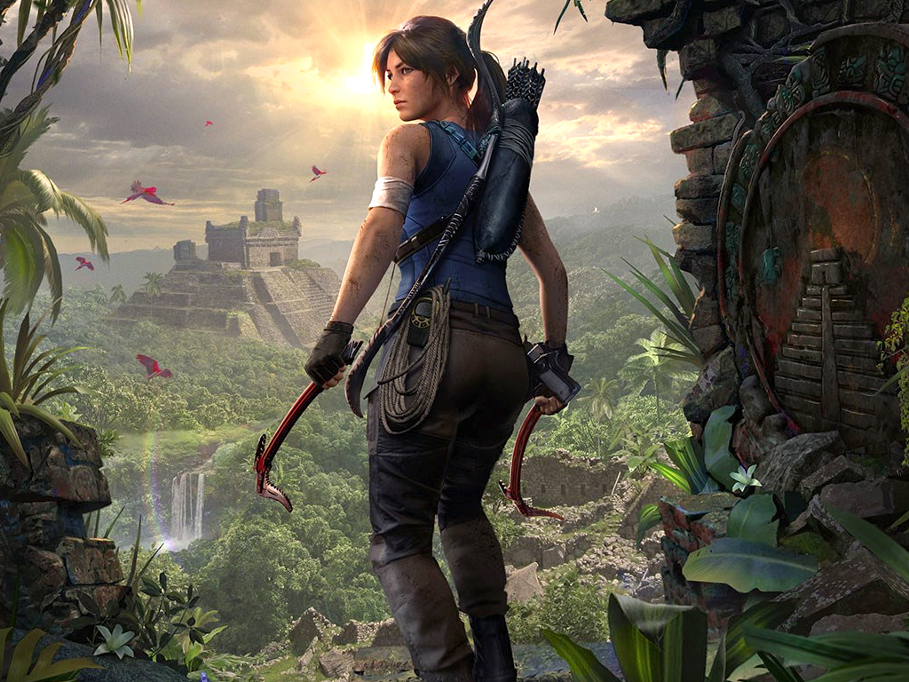 Shadow of the Tomb Raider Definitive Edition video game on Xbox One