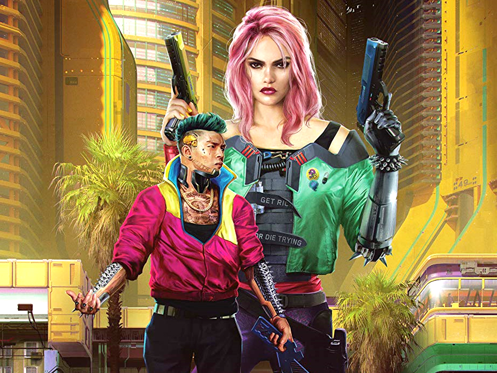The World of Cyberpunk 2077 book cover image