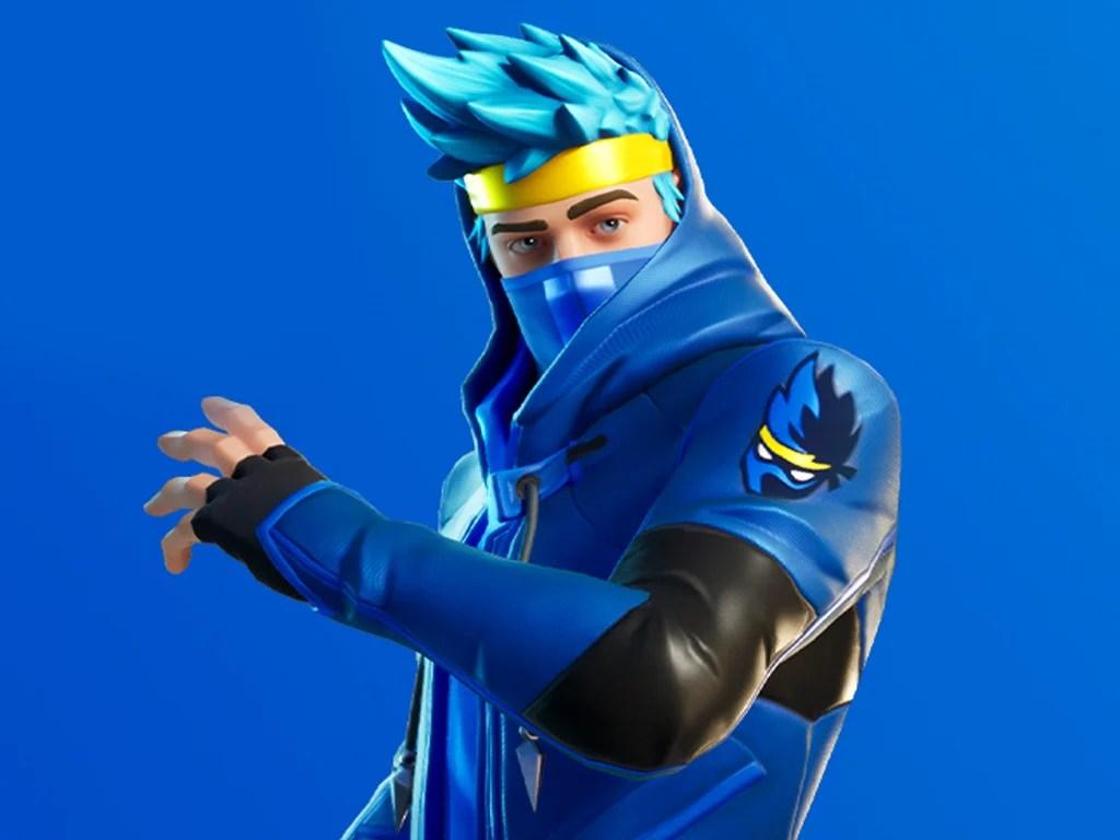 Ninja Fortnite skin on Xbox One
